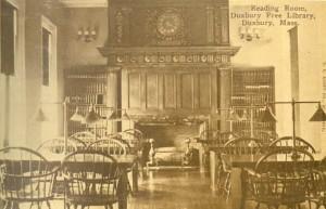 The Duxbury Free Library Reading Room, c. 1910
