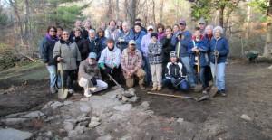 Brewster Homestead Archaeological Dig