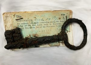 Irong Key from the home of Myles Standish