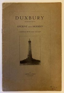 Cover of Duxbury: Ancient and Modern by Henry Fish