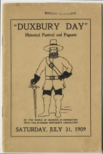 Duxbury Day Pamphlet