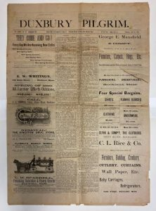 Duxbury Pilgrim Newspaper